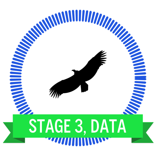 "Badge icon ""Condor (2154)"" provided by Megan Shrewsbury, from The Noun Project under Creative Commons - Attribution (CC BY 3.0)"