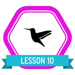 "Badge icon ""Hummingbird (1293)"" provided by NDSTR, from The Noun Project under Creative Commons - Attribution (CC BY 3.0)"
