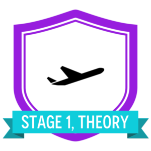 "Badge icon ""Airplane (365)"" provided by The Noun Project under The symbol is published under a Public Domain Mark"