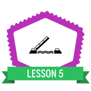 """Badge icon """"Drawbridge (3889)"""" provided by The Noun Project under Creative Commons - Attribution (CC BY 3.0)"""