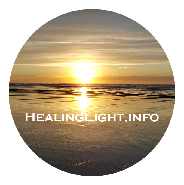 Healing Light Logo Trademark 2016-2018 by Steve J Davis All Rights Reserved