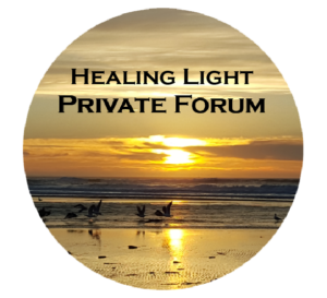 Healing Light Private Forum Logo Trademark 2017-2018 by Steve J Davis. All Rights Reserved. https://healinglight.info